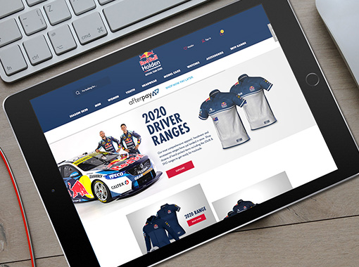 Red Bull Holden Racing Team eCommerce Shop