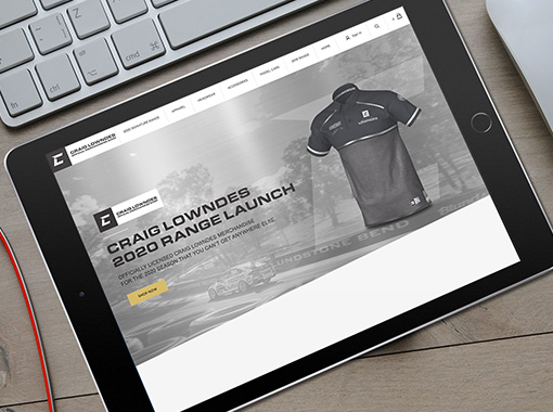 Craig Lowndes Official eCommerce Shop
