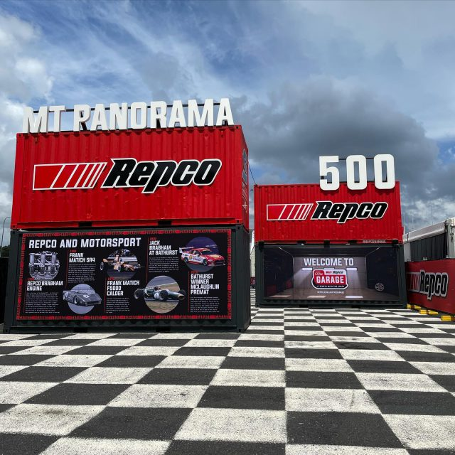 Our first event for the year starts tomorrow.. looking forward to being back on track!! #mtpanorama500 #supercars #bathurst #connectingbrandswithfans #repcosc